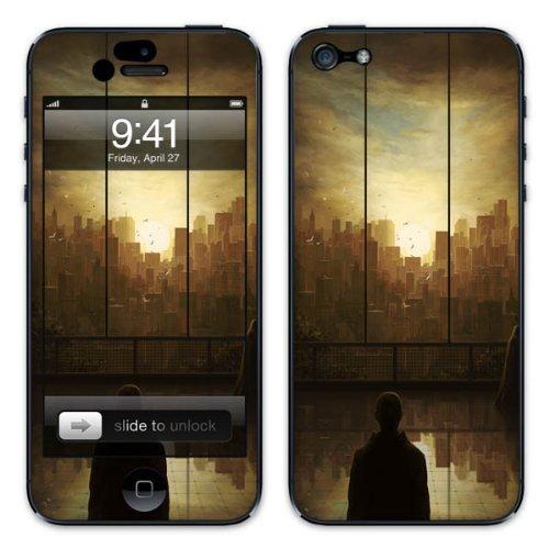 Diabloskinz B0081-0054-0001 Vinyl Skin für Apple iPhone 5/5S Exit scene