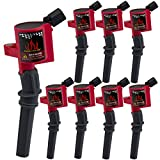 98 mustang ignition coil pack - Pack of 8 High Performance Ignition Coils for Ford Lincoln Mercury 4.6L 5.4L Compatible with DG508 DG457 FD503