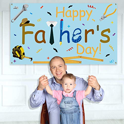 Happy Fathers Day Banner - Large Size 70