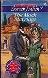 The Mock Marriage (Signet Regency Romance)
