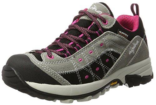 Alpina 680371 - Zapatos de Low Rise Senderismo Mujer gris