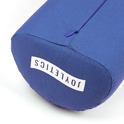 Joyletics® Akupressurmatte Massagematte | Tasche, Matte und Kissen in einem Set zur Lockerung von Verspannungen | geeignet für Entspannung und Meditation
