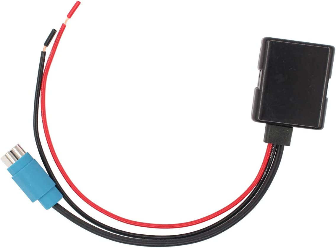 Bluetooth Interface Audio Adapter Cable Cord Full Speed Aux for Alpine Radio CDA-9852 CDA-9857 CDE-9885