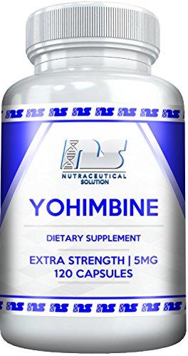 La YOHIMBINE HCL (120ct / 5mg) par Nutraceutiques Solution - la Force Supplémentaire