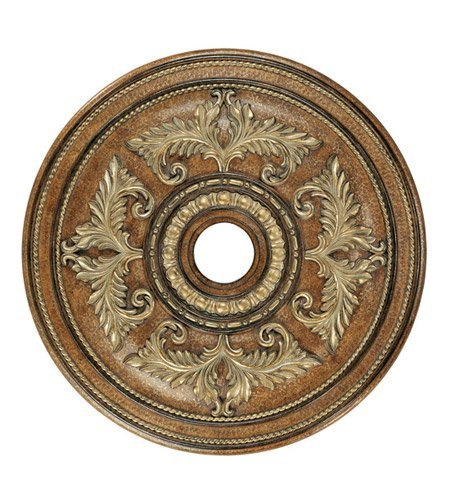 Lighting Accessories Ceiling Medallion with Venetian Patina Finish 31 inch - World of Crystal
