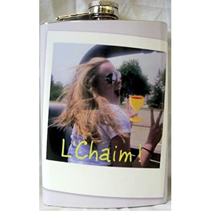 amazon com custom printed 8oz hip flask personalized with your