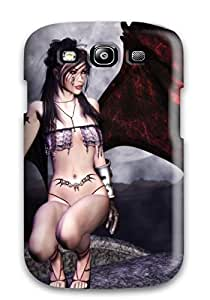 High Quality Cgi Fantasy Case For Galaxy S3 / Perfect Case