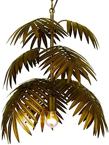 Coconut Leaves Chandelier
