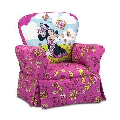 Kidz World 554657 Disney Cuddly Cuties Skirted Rocker, Pink