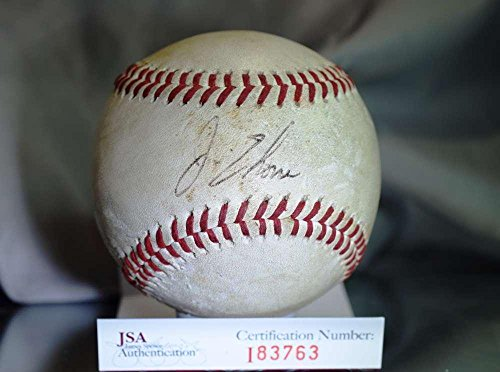 Jim Thome Signed Baseball - EARLIEST EASTERN LEAGUE AUTHENTIC - JSA Certified - Autographed Baseballs ()