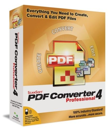 ScanSoft PDF Converter 4 Professional [OLD VERSION]