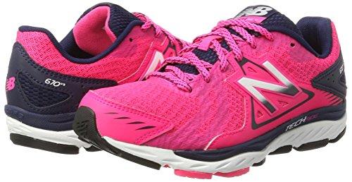 white Para Balance Interior Zapatillas 670v5 New Deportivas pink Mujer Rosa UfzapwqOn