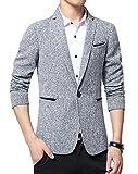 Best Benibos Mens Jackets - Benibos Mens Premium Casual One Button Blazer Slim Review