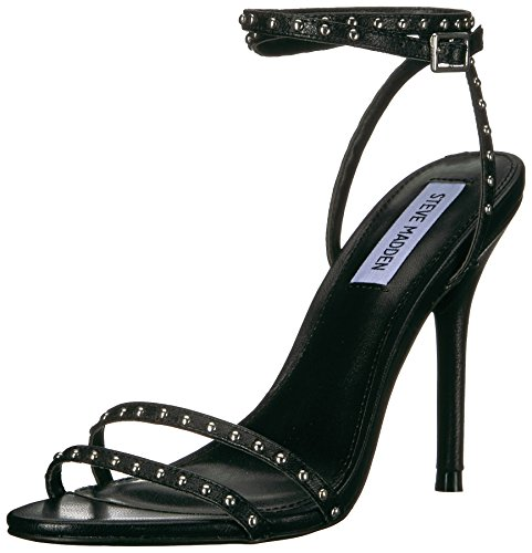 Steve Madden Women's Wish Dress Sandal Black Leather discount wholesale 5XdCaSx