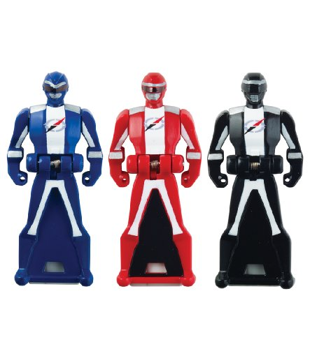 Power Rangers Super Megaforce - Operation Overdrive Legendary Ranger Key Pack, Red/Blue/Black