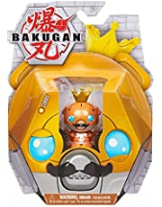 Bakugan 2021 Aurelus Cosplay King Cubbo 2-inch Core Collectible Figure and Trading Cards