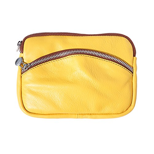 WITH B335 SMALL brown SMALL SILVER CHAIN STRAP Yellow PURSE PURSE APx5tw64