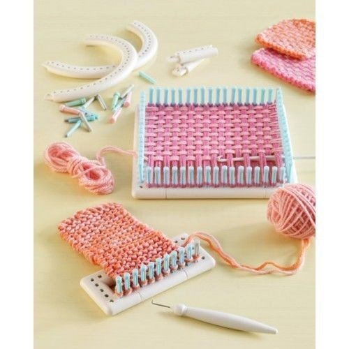 Feici - Multi-function Craft Yarn 5000-100 Knitting Board Knit Weave Loom Kit DIY Tool by Feici (Image #3)