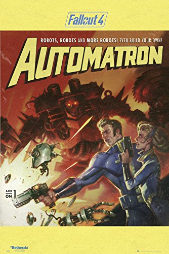 Fallout 4- Automatron Poster 24 x 36in