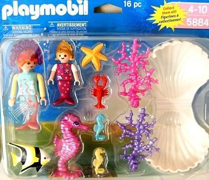 Amazon.com: Playmobil 5884 Magic Castillo de sirenas ...