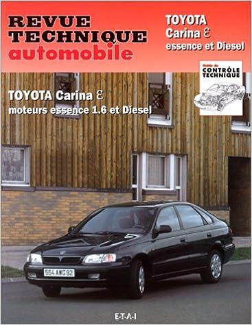 Livres Revue technique de l'Automobile N° 591.1: Toyota Carina Epsilon, essence et diesel pdf