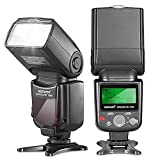 Photo : Neewer 750II TTL Flash Speedlite with LCD Display for Nikon D7200 D7100 D7000 D5500 D5300 D5200 D5100 D5000 D3300 D3200 D3100 D3000 D700 D600 D500 D90 D80 D70 D60 D50 and Other Nikon DSLR Cameras