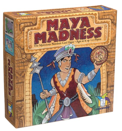 Board Games Gamewright Maya Madness : The Mysterious Numbers Game
