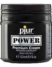 pjur POWER Premium Cream - Fisting glijgel met romige formule voor extra heftige seks - ook voor grote speeltjes & dildo's (150ml)