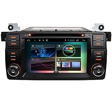 Android 17,78 cm pantalla de navegación de BMW 3 E46 - 1 segundo Turbo