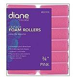 Fromm International Diane Foam Rollers, Pink, 3/4-Inch, 12 Per Bag