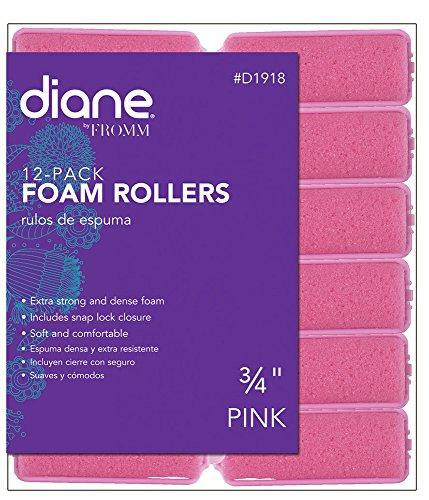 - Diane Foam Rollers, Pink, 3/4