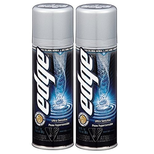 Edge Ultra Sensitive Shave Gel - 7 oz - 2 pk - Edge Shave Cream