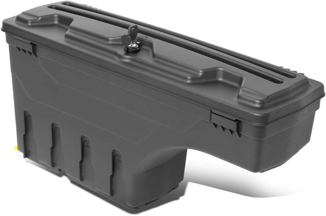 Driver Side Truck Bed Wheel Well Storage Case Tool Box for Chevy Silverado GMC Sierra 07-19