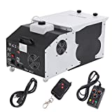 Ridgeyard 1500W Low-Lying Dry Ice Effect Fog Machines 2.5L Ground Smoke Fogger with Wireless Remote Control Great for Stage Effecting Wedding Show Theater