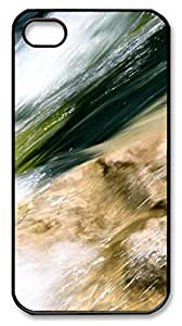 River 2 PC Case Cover for iPhone 4 and iPhone 4s šCBlack