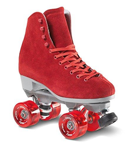 (Sure-Grip Boardwalk Fame Roller Skate Package - red sz Mens 7 / Ladies 8)