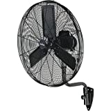 GARRISON 2477844 3-Speed Industrial Oscillating Wall Mount Fan with 9500 CFM, 30''