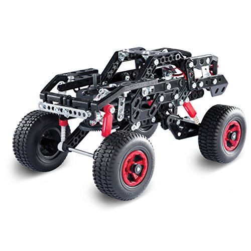 Erector by Meccano Motorized Off Road Racer 25-in-1 Model Building Kit, STEM Education Toy for Ages 9 & Up