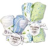 Trend Lab Trend Lab Bibs and Burp Cloths Bouquet Set - Caterpillar, White