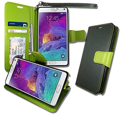 Note4 Premium [ Wallet ] Case, Samsung N - Light Olive Matt Shopping Results