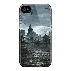 For Finleymobile77 Iphone Protective Cases, High Quality For Iphone 6 After The Ominous Night Skin Cases Covers