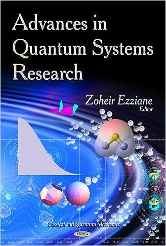 Book ADVANCES IN QUANTUM SYSTEMS (Classical and Quantum Mechanics)