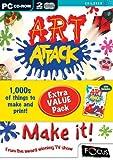Art Attack /Art Attack Make It (PC CD)