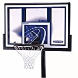 Lifetime 1079 Height Adjustable In Ground Basketball System, 48 Inch Shatterproof Backboard