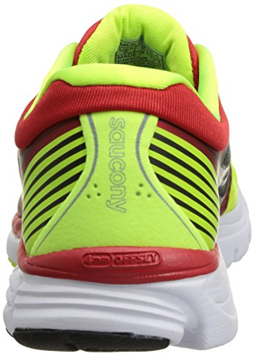 SAUCONY Kinvara 5 Men's Running Shoes, Yellow/Red, UK7