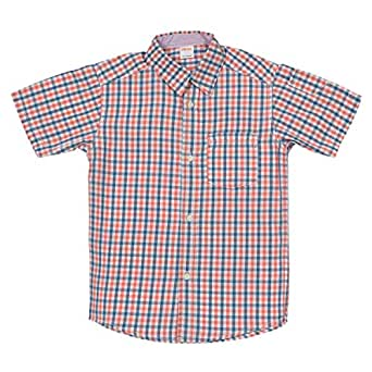 Gymboree Multi Color Cotton Shirt Neck Shirts For Boys