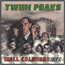 Amazon.com: TWIIN PEAKS Wall Calendar 2021: 16 MONTHS 8.5 x 8.5