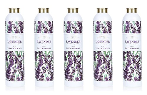 MARKS & SPENCER Lavender Talcum Powder 200 g. (5 Pack) by Marks & Spencer
