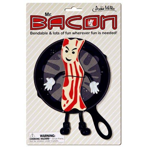 Accoutrements Mr.Bacon Bendable Action Figure