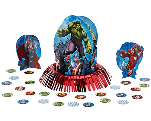 [Avengers Table Decorating Kit] (Captain America First Avenger Halloween Costume)